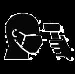 employee temperature icon