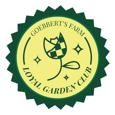 goebberts farm loyal garden club
