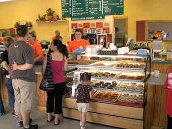 inside Goebberts bakery